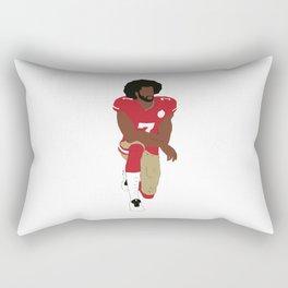 Kneeling Kaepernick Rectangular Pillow