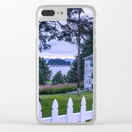 House on the Bay Clear iPhone Case