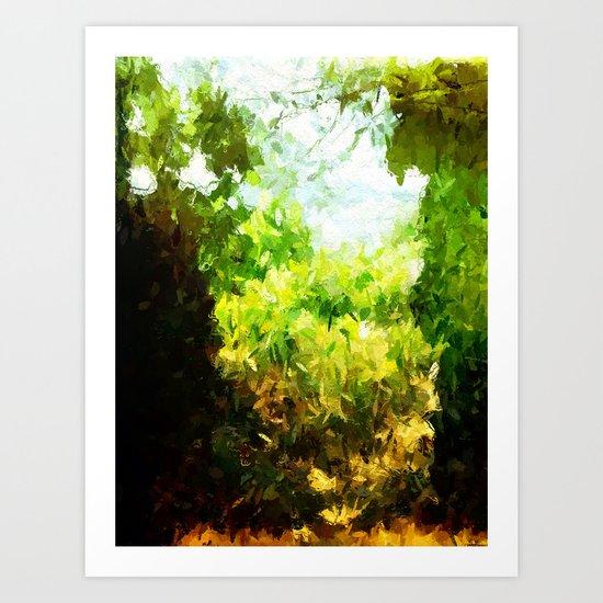 Saint-Tropez - Nature - France Art Print