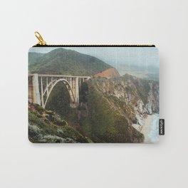 Bixby Bridge | Big Sur California Highway Ocean Coastal Travel Photography Carry-All Pouch