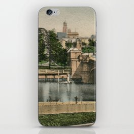 York general view and castle 1900 iPhone Skin