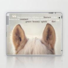 Grace, Beauty, Spirit & Fire Laptop & iPad Skin