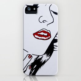 Who's that Girl - White iPhone Case