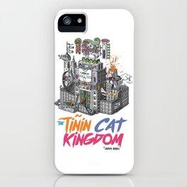 """Javier Arrés Tshirts/camisetas """"The Tiñin Cat"""" iPhone Case"""