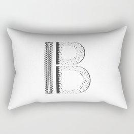 "Tao ""Letter B"" Rectangular Pillow"