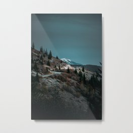 Road to Mount Rainier Metal Print