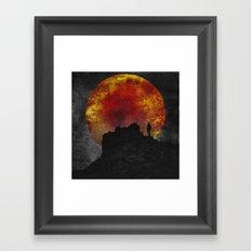 ash and fire Framed Art Print