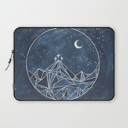 Night Court moon and stars Laptop Sleeve