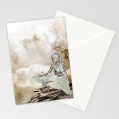 Fairy and the swan Stationery Cards
