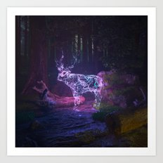 The Soul of the forest Art Print