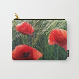 Ballad Of The Three Red Poppies Carry-All Pouch