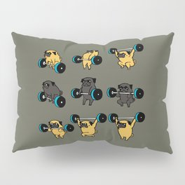 OLYMPIC LIFTING PUG Pillow Sham