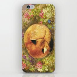 The Cozy Fox iPhone Skin