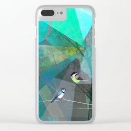 BIRDS P19 Clear iPhone Case