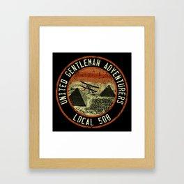 United Gentleman Adventurers Framed Art Print