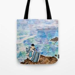 Big Blue Tote Bag