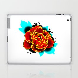 Red Peony  Laptop & iPad Skin