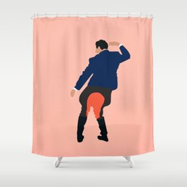 Kidnapping Caucasian Styla Shower Curtain