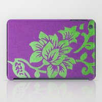 floral pattern iPad Cases featuring Floral Pattern by Marjolein