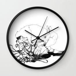 perfect bound Wall Clock