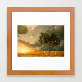 Flying with the fantasy Framed Art Print