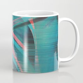 Glitch Monstera Theme Coffee Mug