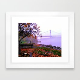 Mid-Hudson Bridge  Framed Art Print