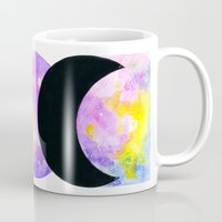 goddess Mugs featuring Goddess by coracrow