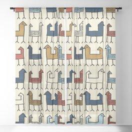 Zagros in Cream Sheer Curtain