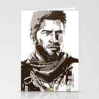 uncharted Stationery Cards featuring Uncharted 3 by James Brunner