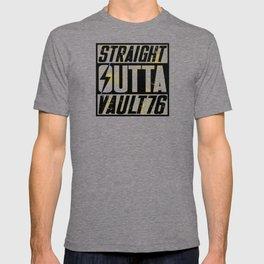 Straight Outta Vault 76 - Fallout T-shirt