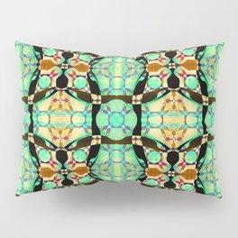 Boho Cathedral Soul Celtic Cross Glass Pillow Sham
