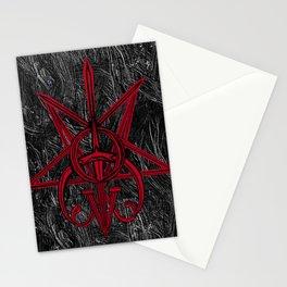 Sigil Lucifer, Satan and Clavicula Nox Stationery Cards