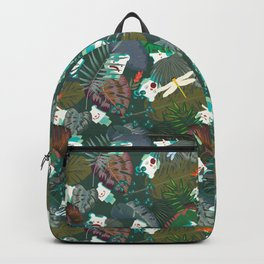 Tropical ShanHai Bear Backpack
