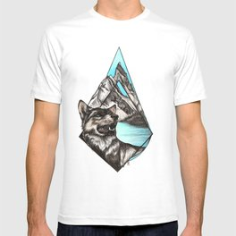 Wolf in Mountains T-shirt