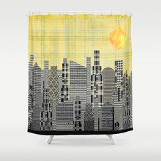 Plaid City Shower Curtain