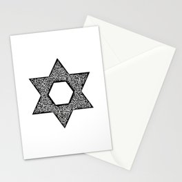 Star of David (Jewish star) Stationery Cards