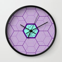 Geomeric Playgrond 07 Wall Clock