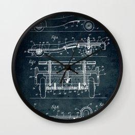 Wagon coaster Wall Clock
