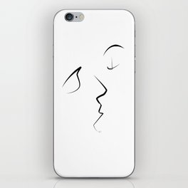 Kiss/beso/kuss/baiser/beijo/ iPhone Skin
