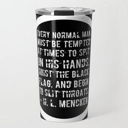 Hoist The Black Flag Travel Mug