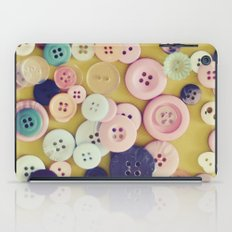 Vintage Buttons  iPad Case