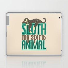 Sloth Is My Spirit Animal Laptop & iPad Skin