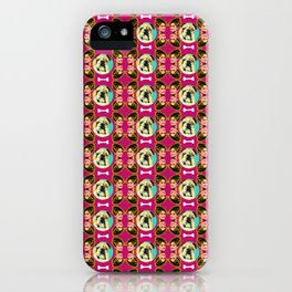 "Noughty Queens - Paulette Legally Blonde ""I'm Taking the Dog Dumbass"" iPhone Case"