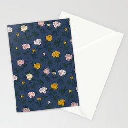 Peony pattern Stationery Cards
