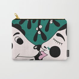 The dog and the girl Carry-All Pouch