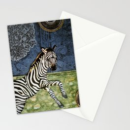 The Nobility of the Zebra Stationery Cards