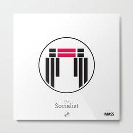The Socialist Metal Print