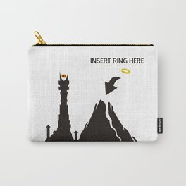 Lord of the Ring Intructions Carry-All Pouch