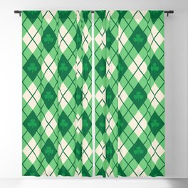 Irish Argyle Blackout Curtain